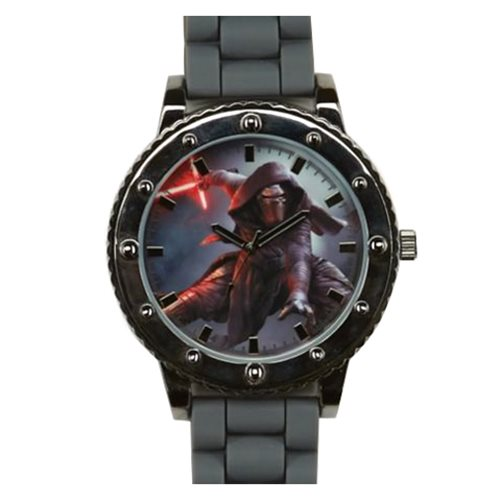 Star Wars: Episode VII - The Force Awakens Kylo Ren Gray Silicone Strap Watch