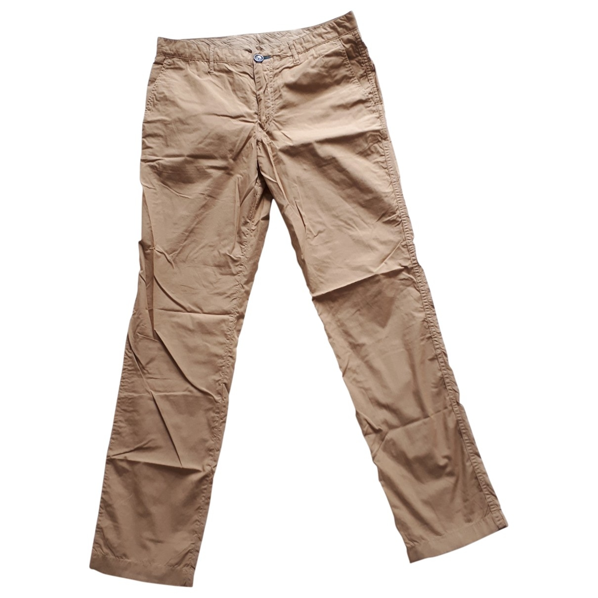 Paul Smith \N Beige Cotton Trousers for Men 32 UK - US