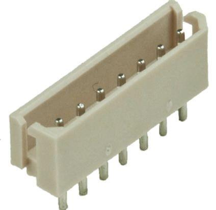 Molex , SPOX, 5267, 7 Way, 1 Row, Straight PCB Header (10)
