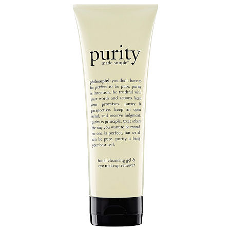 philosophy Purity Made Simple Facial Cleansing Gel & Eye Makeup Remover, One Size , No Color Family