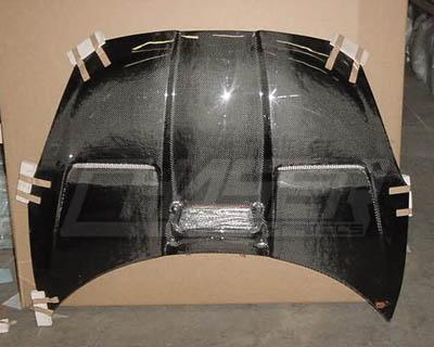 Advan Carbon BKTC00-AC875HCX Xtreme Design Carbon Fiber Hood w/2-Inch Scoop Toyota Celica 2000-2005