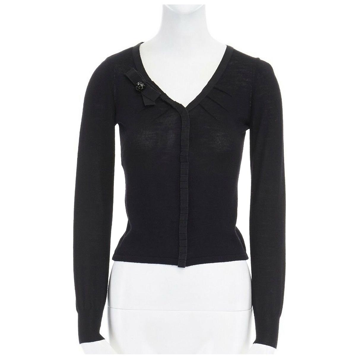 Alberta Ferretti \N Black Wool Knitwear for Women S International
