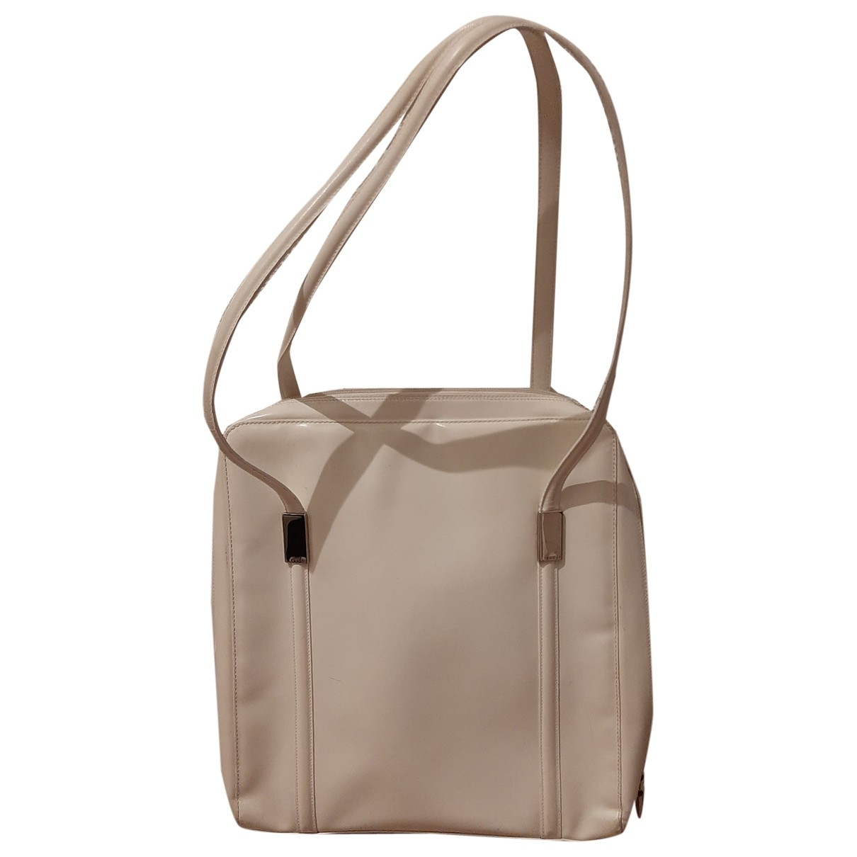 Gucci \N White Patent leather handbag for Women \N