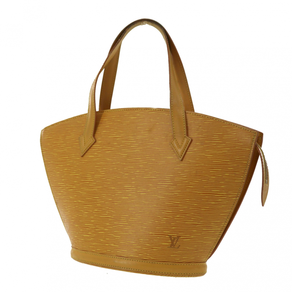 Louis Vuitton Saint Jacques Yellow Leather handbag for Women \N