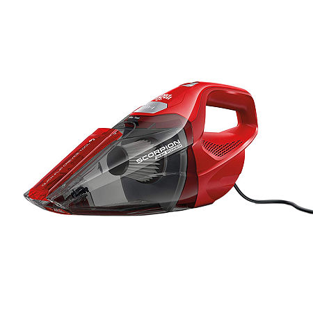 Dirt Devil SD20005RED Scorpion Quick Flip Corded Bagless Handheld Vacuum, One Size , Red