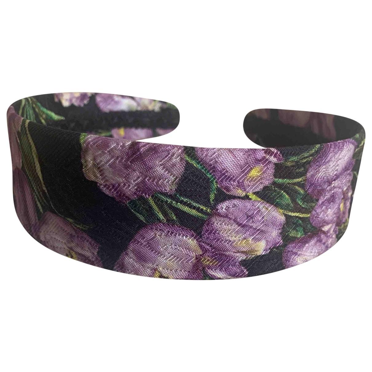 Dolce & Gabbana \N Purple Cloth Hair accessories for Women \N