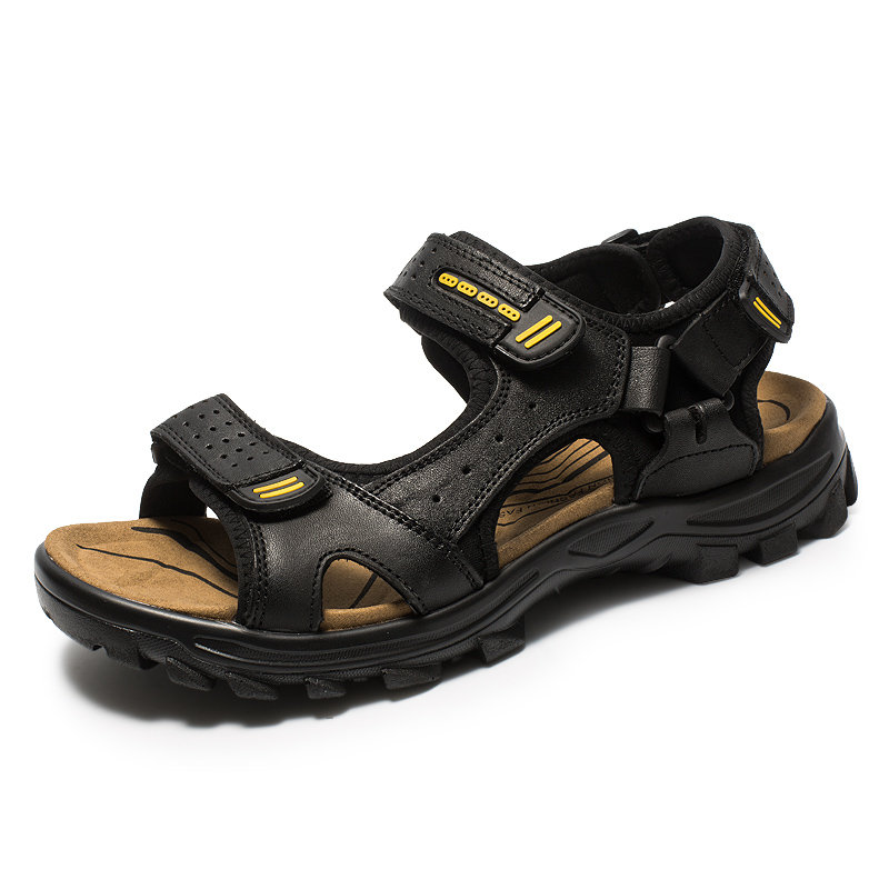Men Hook Loop Outdoor Comfy Sole Water Friendly Sandals