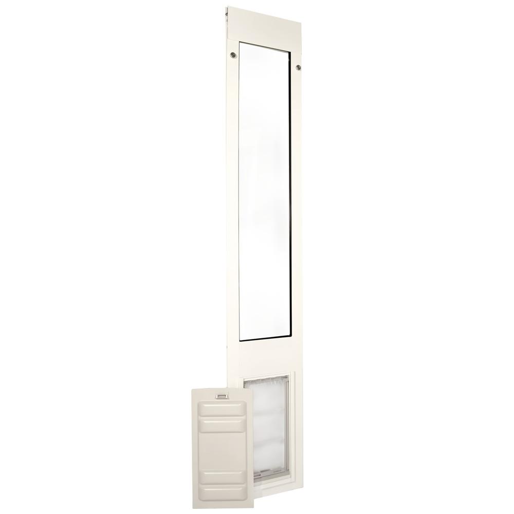 Endura Flap Pet Door - Thermo Panel 3e White Frame - Small (93.25