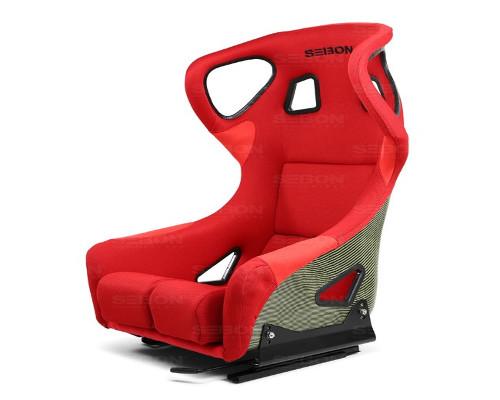 Seibon BSEAT-K-R-FC Carbon Kevlar Bucket Racing Seat Type FC Red