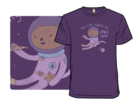 Interstellar Kitten Pizza Party T Shirt