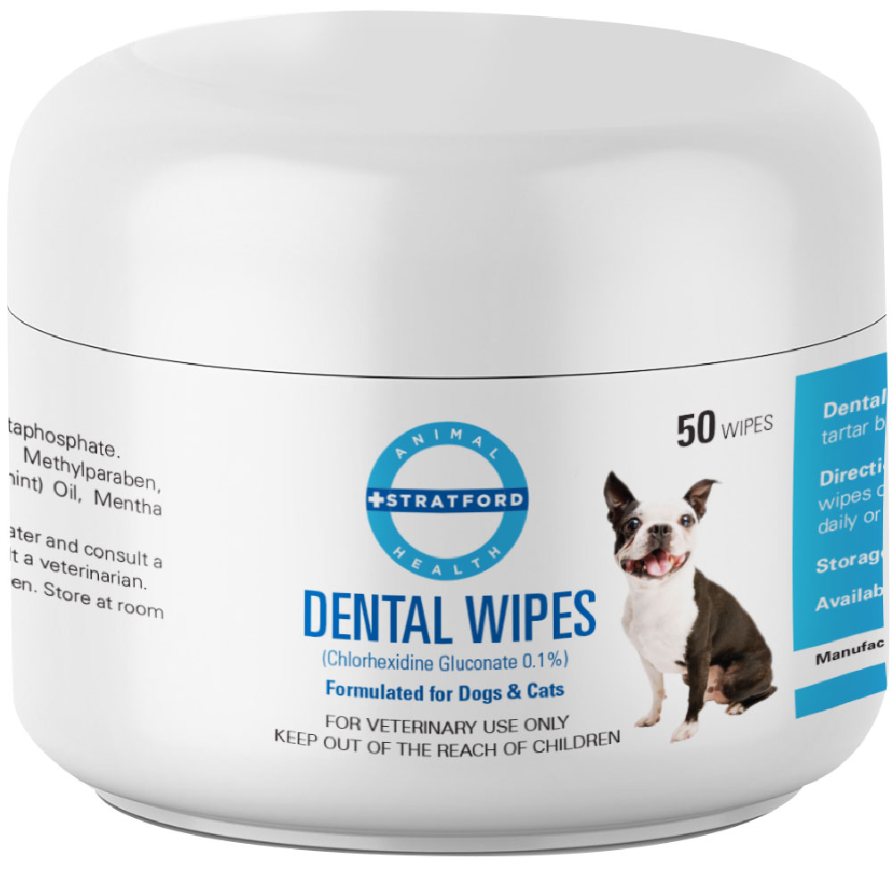 Stratford Chlorhexidine Dental Wipes (50 count)