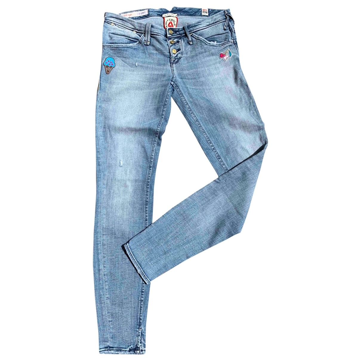Cycle \N Blue Denim - Jeans Jeans for Women 28 US
