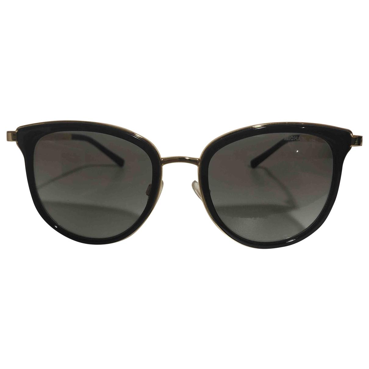 Michael Kors \N Black Metal Sunglasses for Women \N