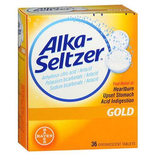 AlkaSeltzer Effervescent Tablets Gold 36 Tabs by AlkaSeltzer
