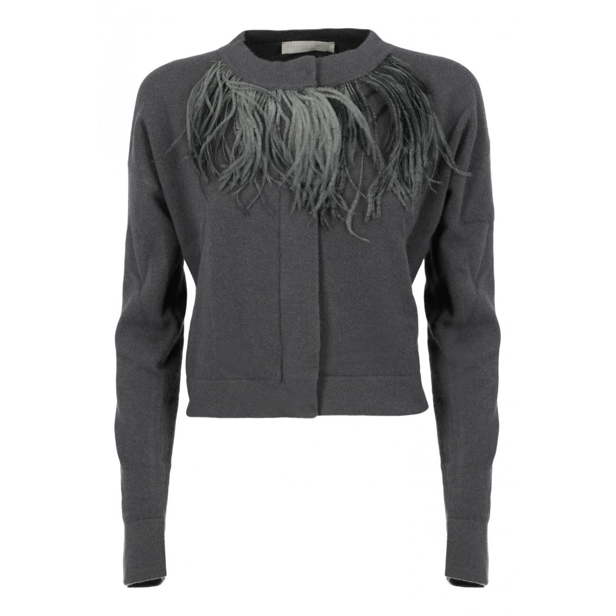 Fabiana Filippi \N Grey Wool Knitwear for Women 42 IT