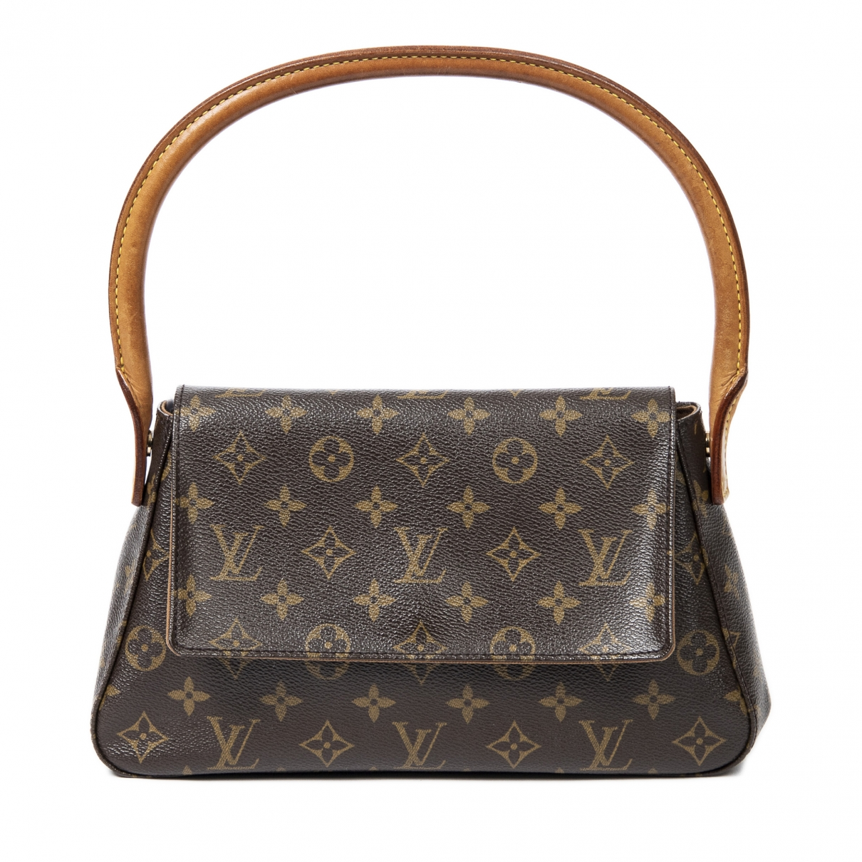 Louis Vuitton Looping Brown Leather handbag for Women \N