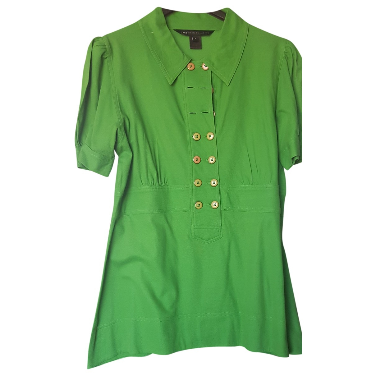 Marc By Marc Jacobs \N Green Cotton  top for Women L International