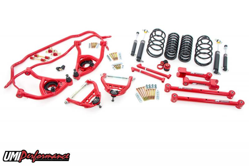 """UMI Performance ABF403-67-1-R 1967 GM A-Body Handling Package, 1"""" Lowering- Stage 2"""