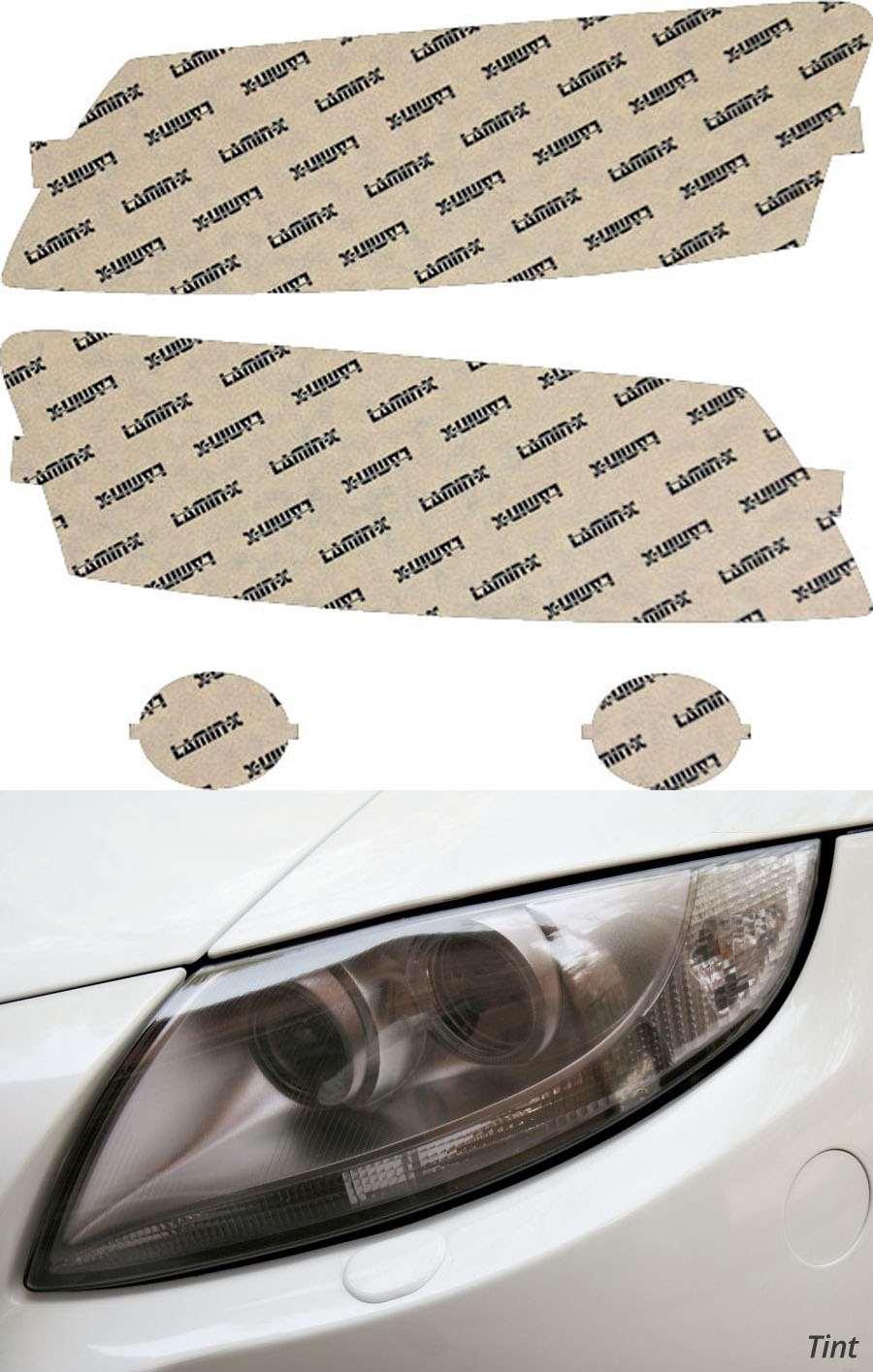 Audi S5 08-12 Tint Headlight Covers Lamin-X A014T