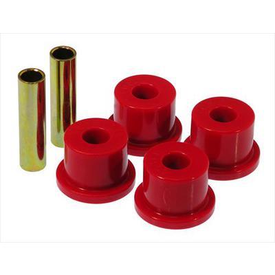 Prothane Motion Control Leaf Spring Eye/Shackle Bushing Kit (Red) - 7-804