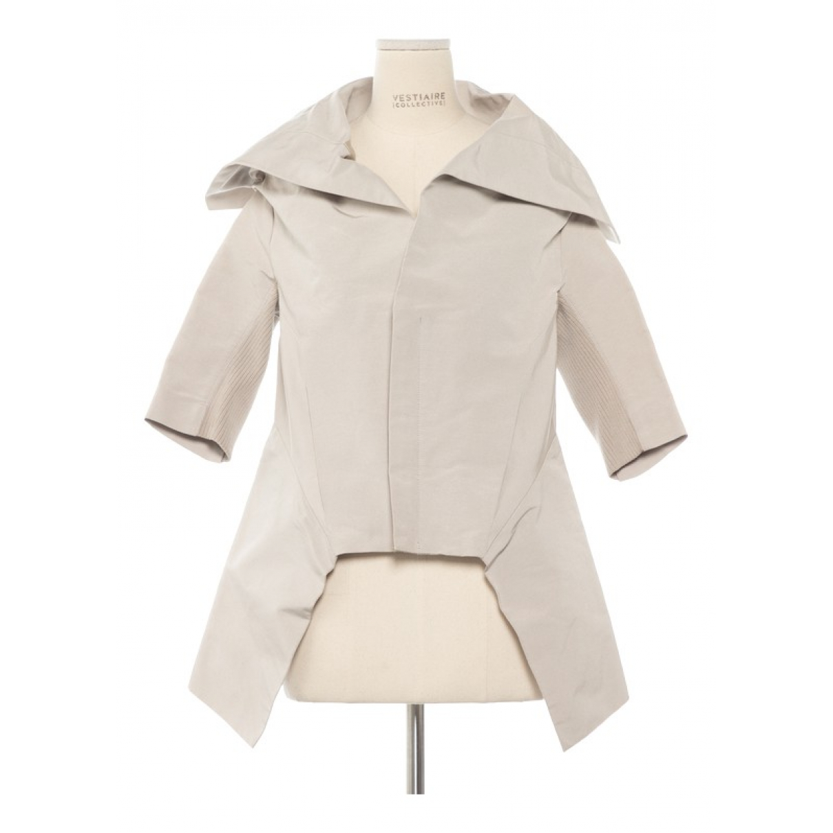 Rick Owens \N Grey Cotton jacket for Women 42 IT