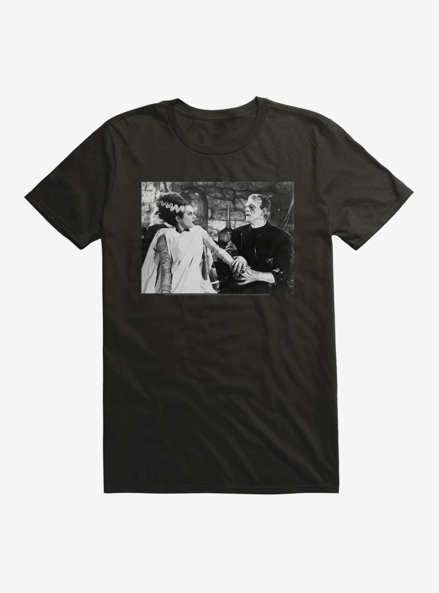 Universal Monsters Bride Of Frankenstein Couple T-Shirt