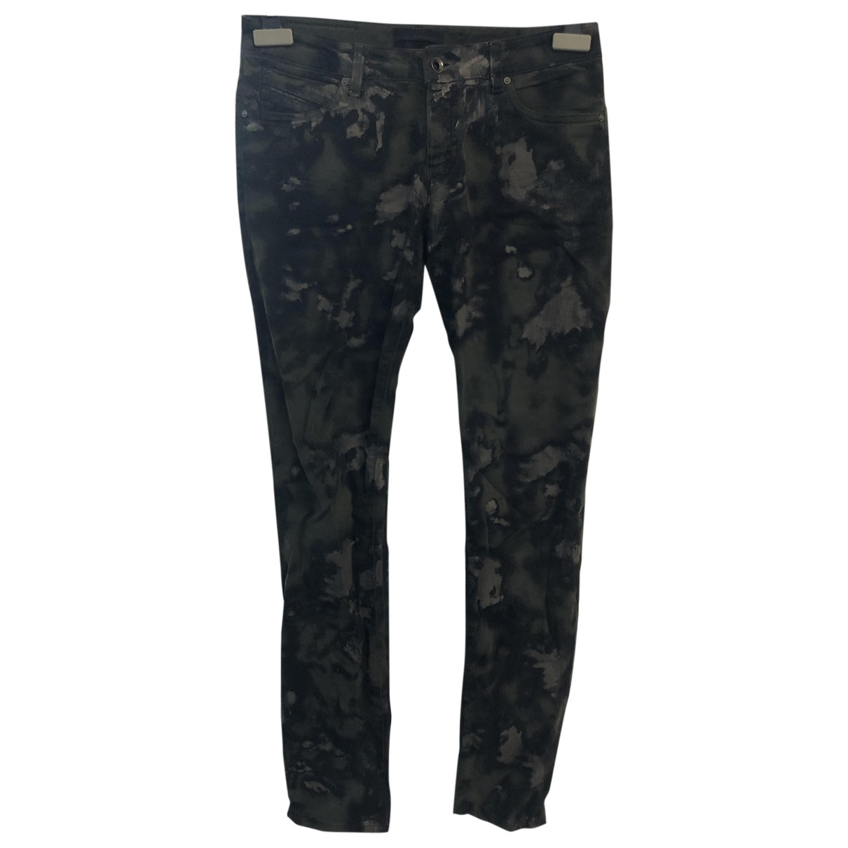 Diesel Black Gold \N Multicolour Cotton - elasthane Jeans for Women 28 US