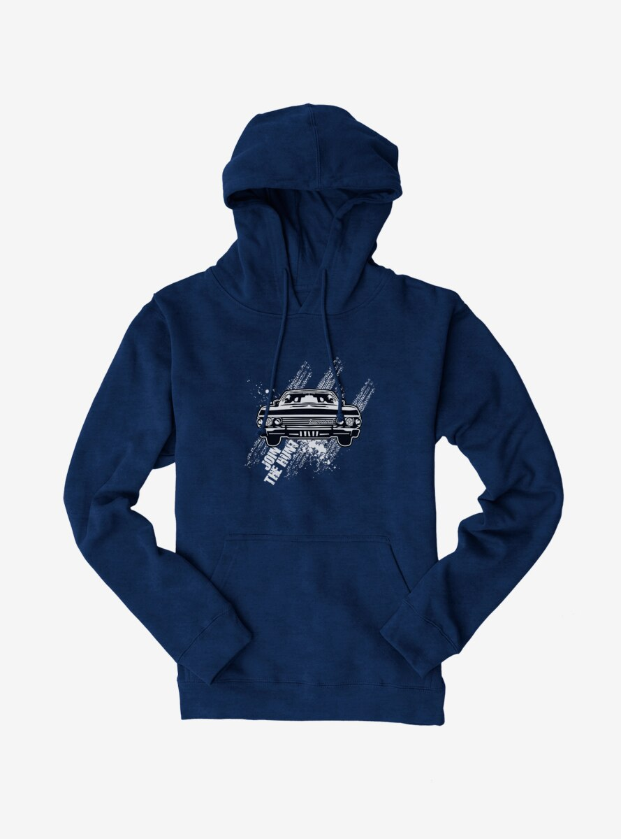 Supernatural Join The Hunt Impala Hoodie
