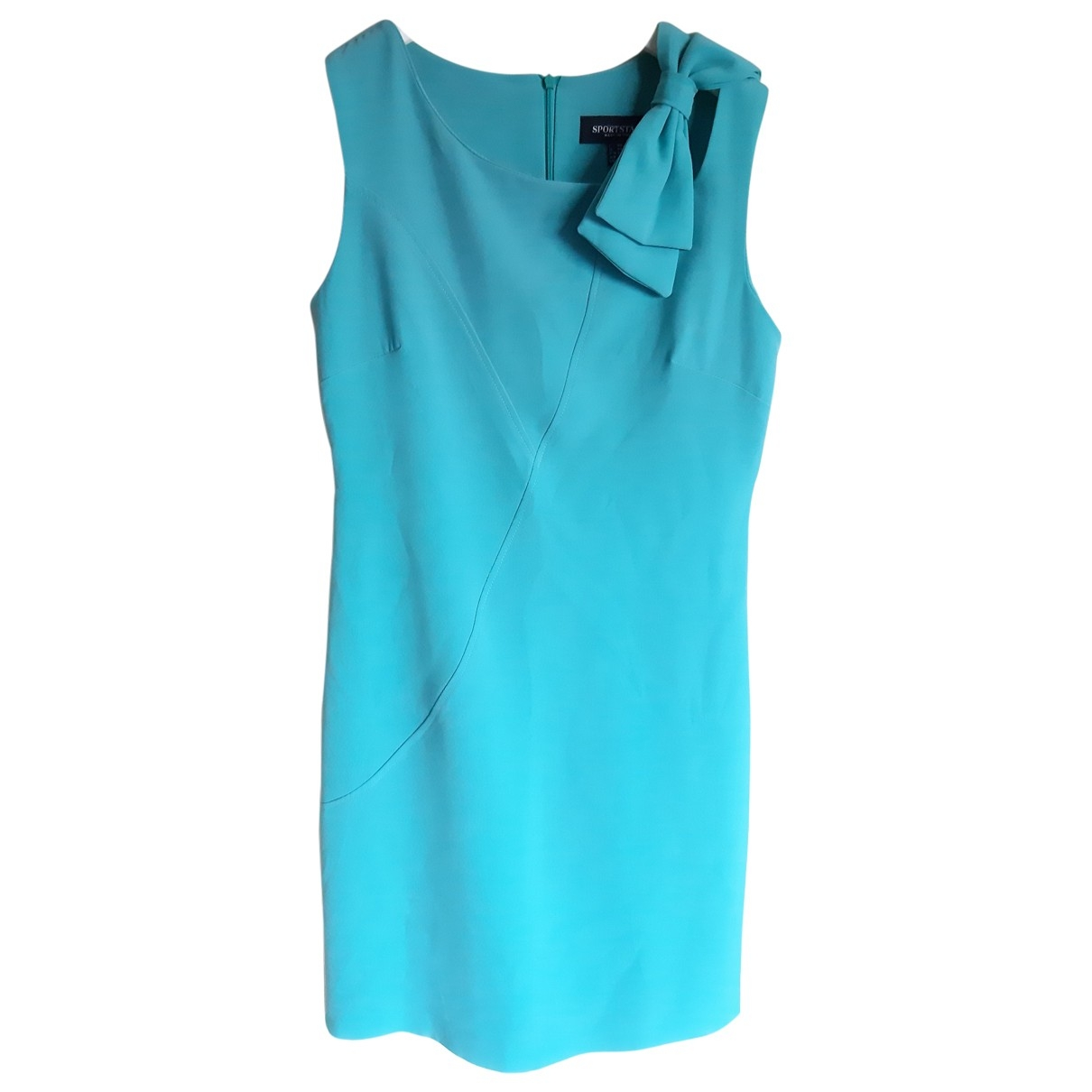 Non Signé / Unsigned \N Turquoise dress for Women 40 IT
