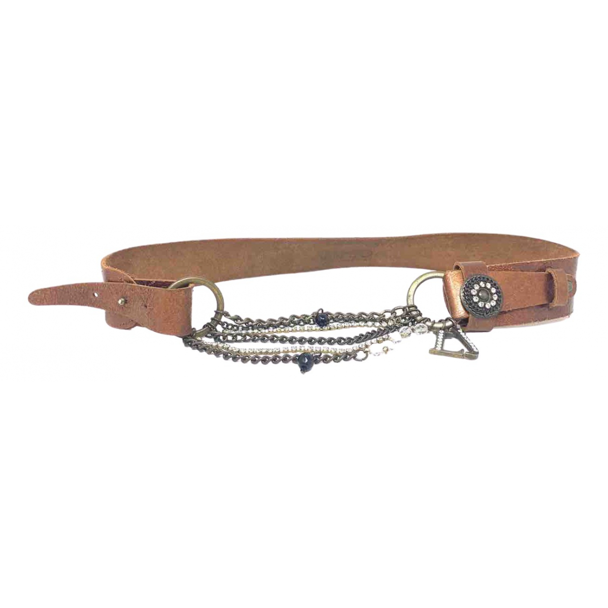 Liu.jo \N Brown Leather belt for Women L International