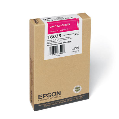 Epson T603300 cartouche d'encre originale magenta vif