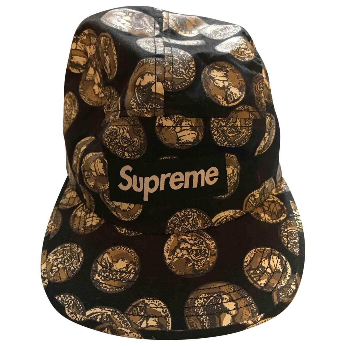 Supreme \N Black Cotton hat & pull on hat for Men 56 cm