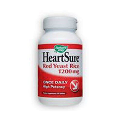 HeartSure Red Yeast Rice 60 Tabs by Nature's Way