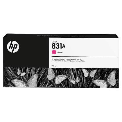 HP 831A CZ684A cartouche d'encre latex magenta originale 775ml