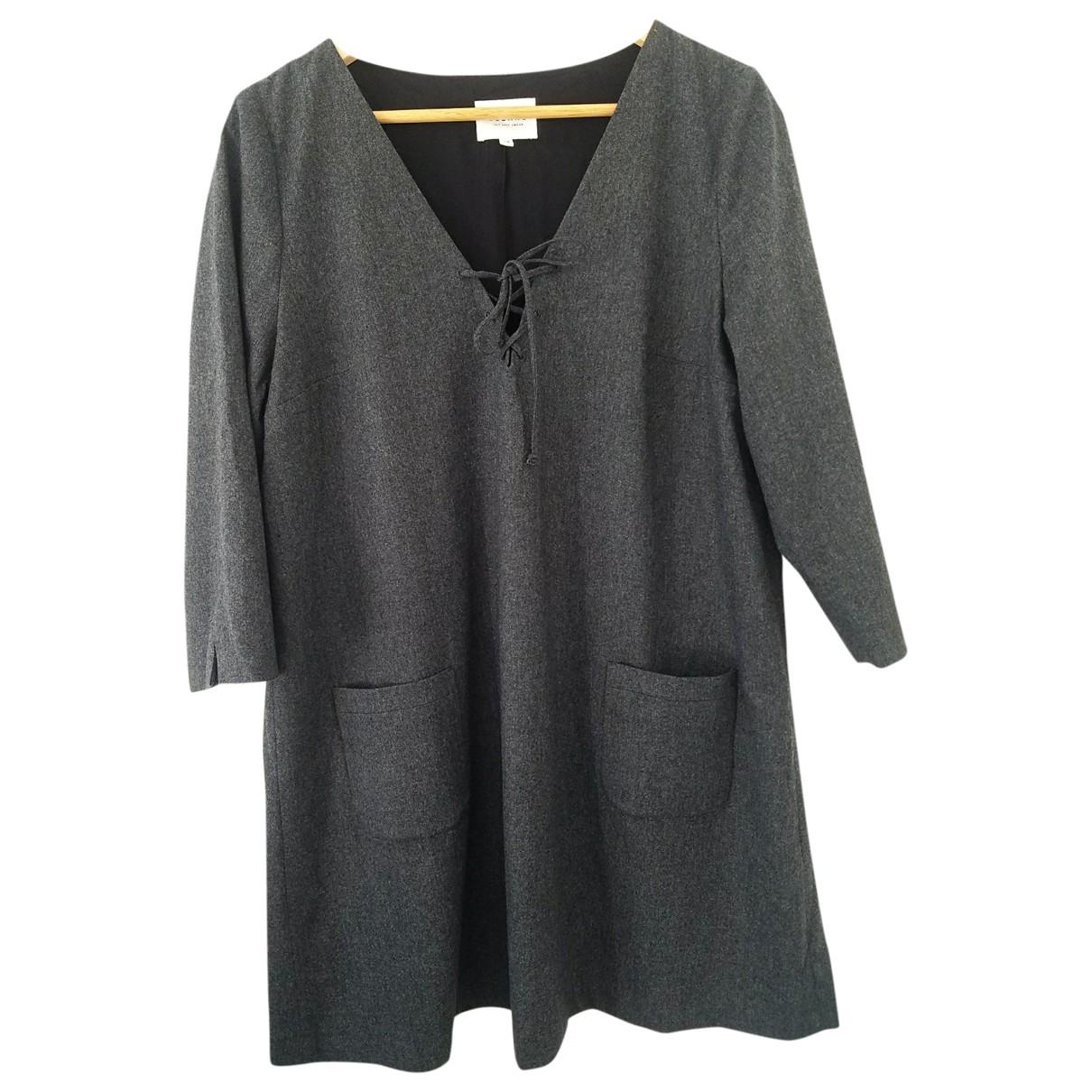 Sézane Fall Winter 2019 Grey dress for Women 44 FR