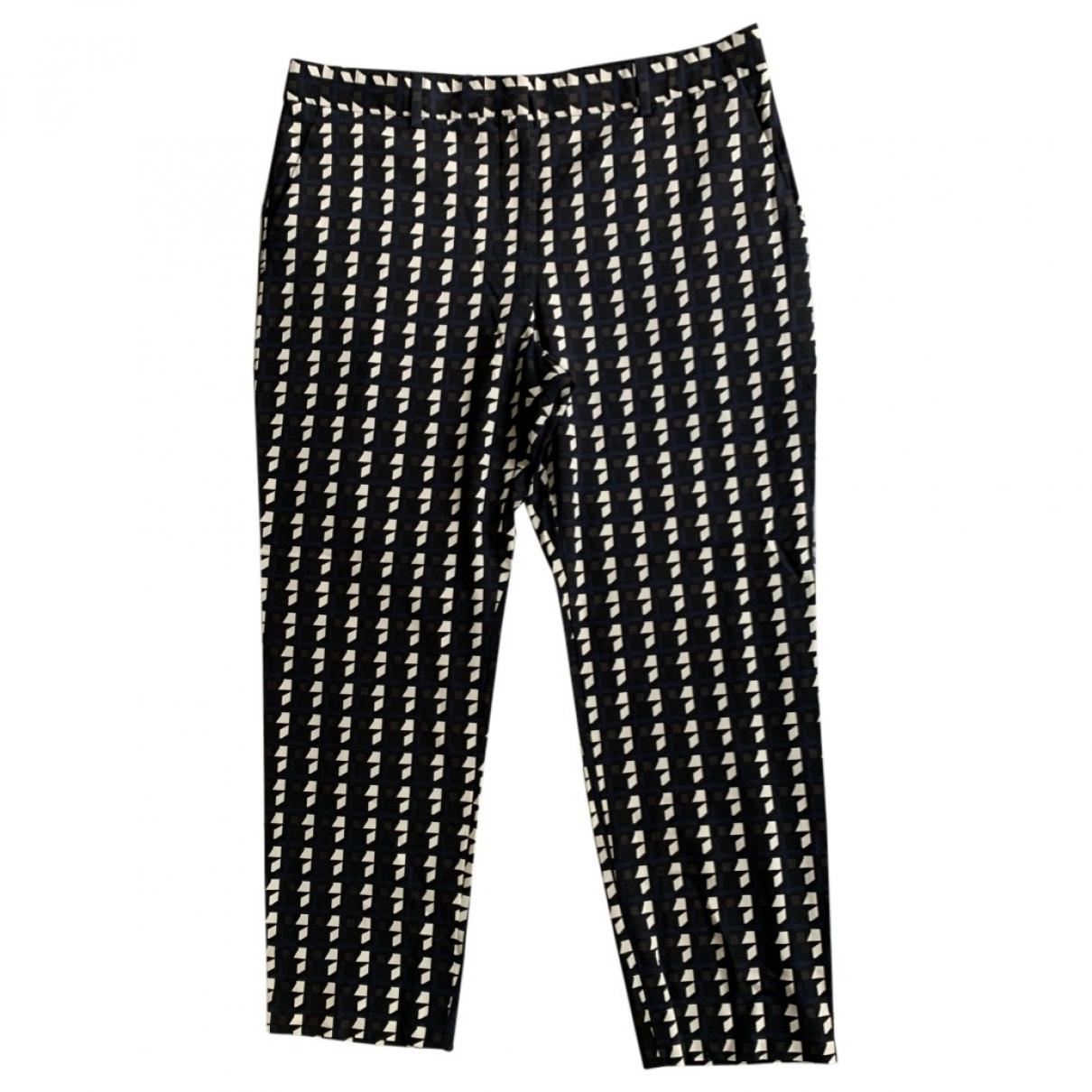 Theory \N Multicolour Wool Trousers for Women 8 US