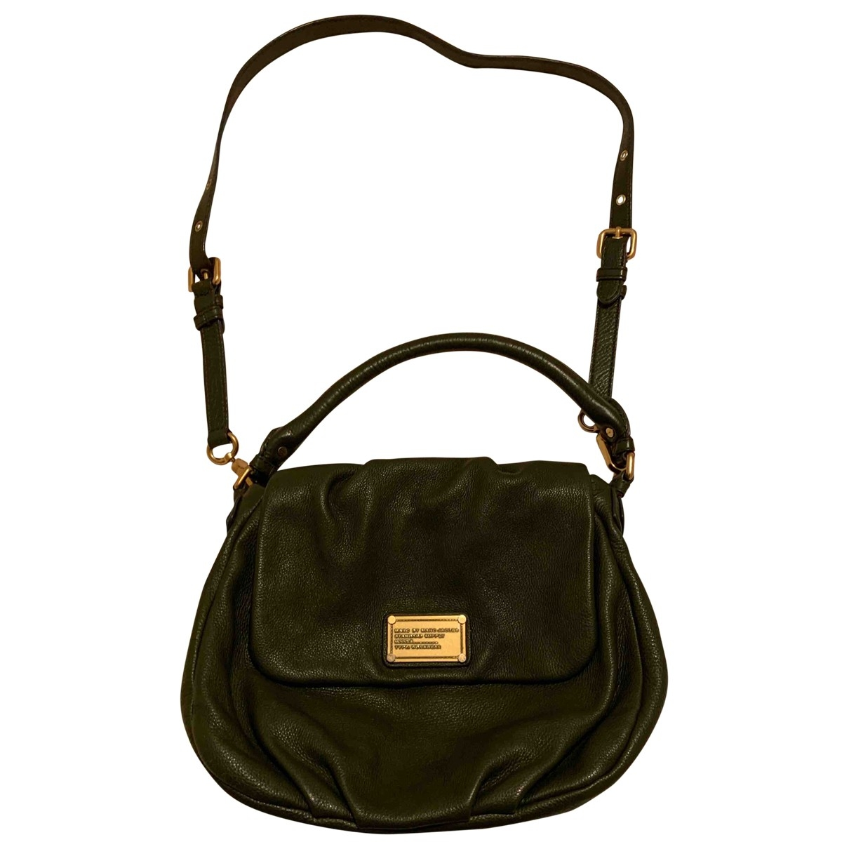 Marc By Marc Jacobs \N Green Leather handbag for Women \N