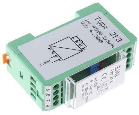 LKMelectronic LKM 213 Temperature Transmitter PT100 Input, 10 → 36 V