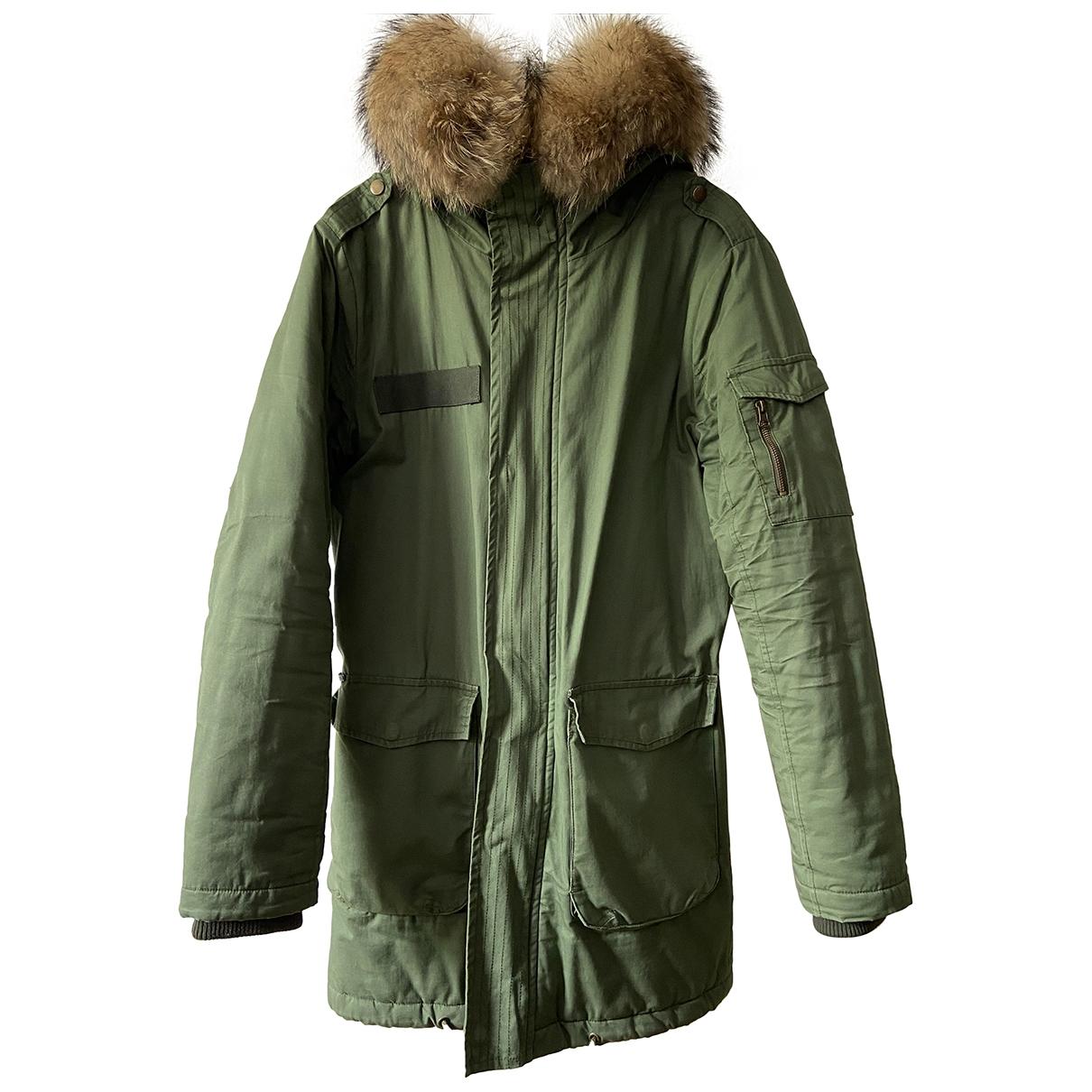 Welovefurs \N Green Cotton coat  for Men S International