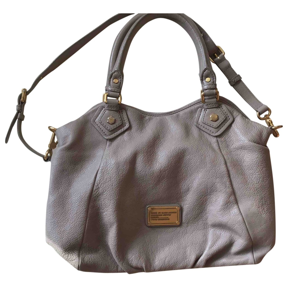 Marc By Marc Jacobs \N Beige Leather handbag for Women \N