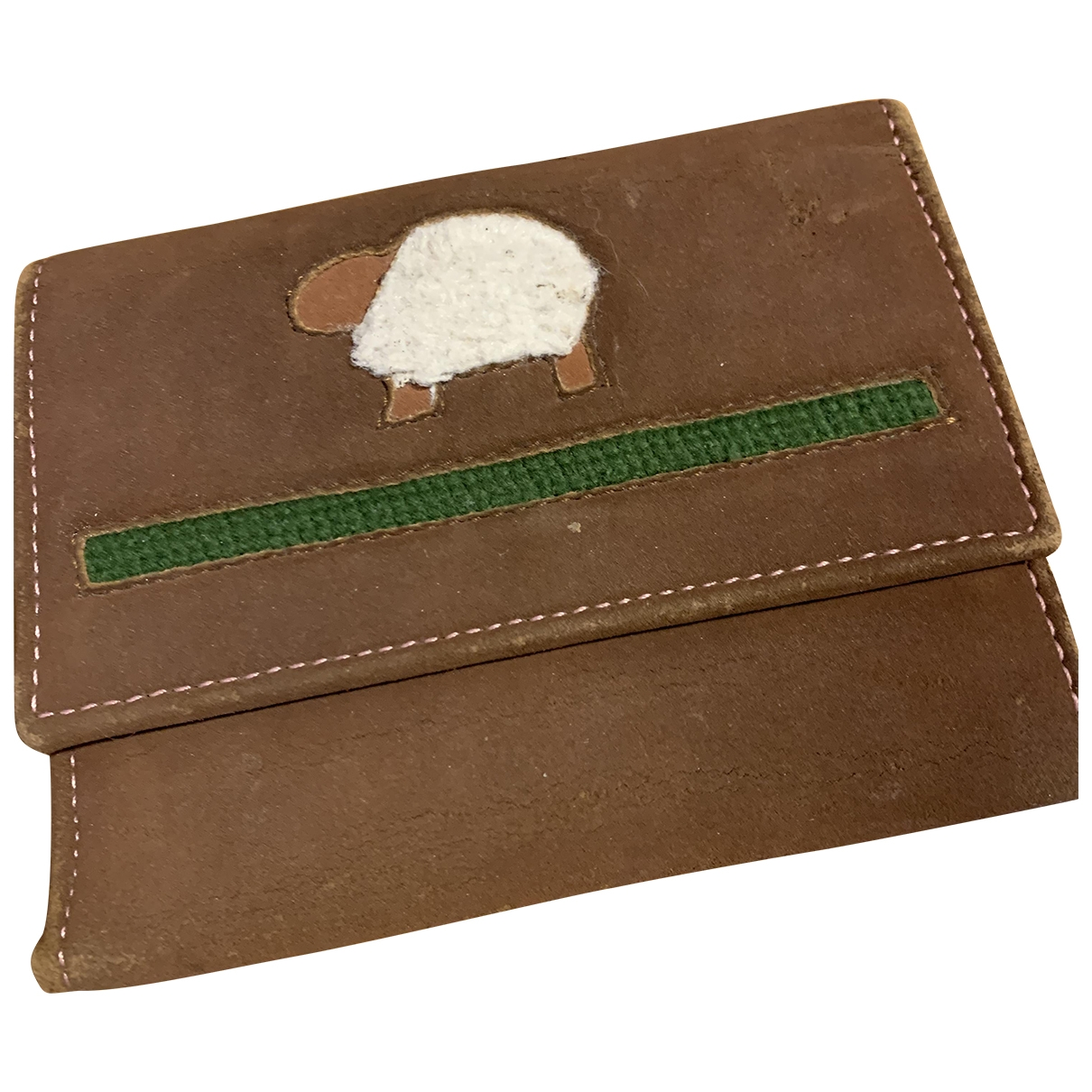Fendissime \N Camel wallet for Women \N