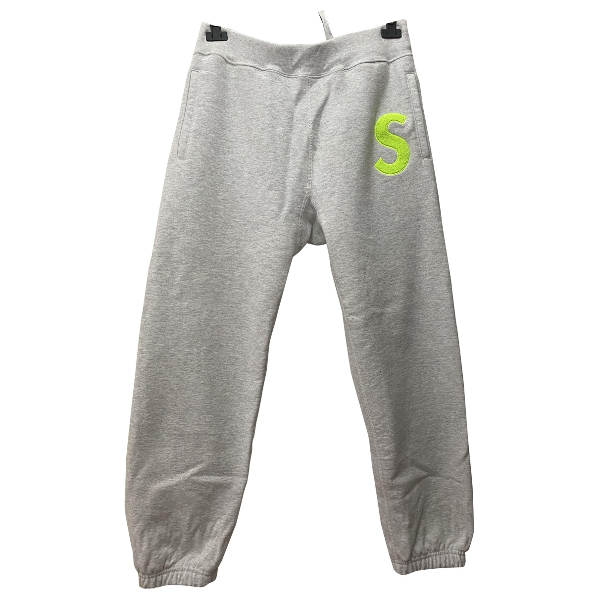 Supreme \N Grey Cotton Trousers for Men S International