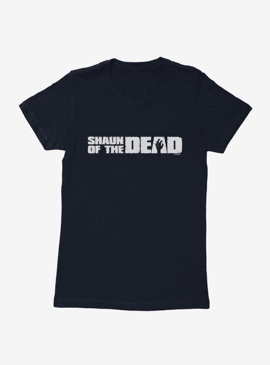 Shaun Of The Dead Logo Womens T-Shirt
