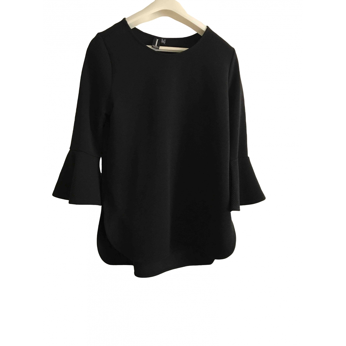 Non Signé / Unsigned \N Black  top for Women 8 UK