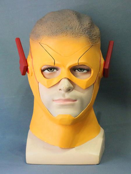 Milanoo The Flash 3 Kid Flash Wally West Halloween Cosplay Mask Halloween