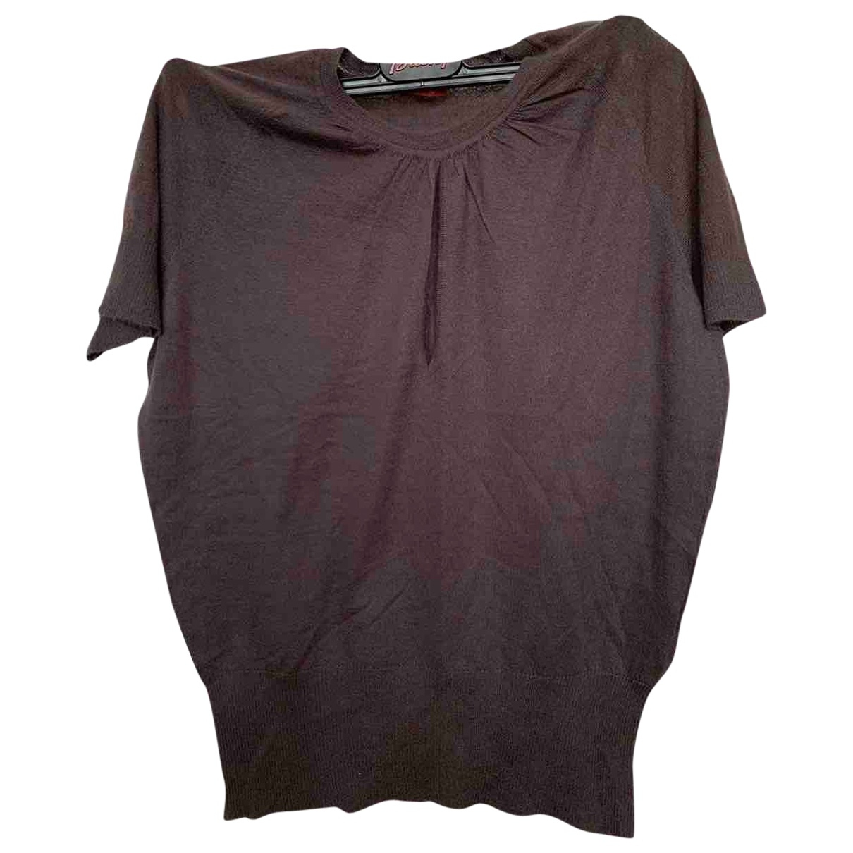 Brioni \N Brown Cashmere  top for Women 42 FR