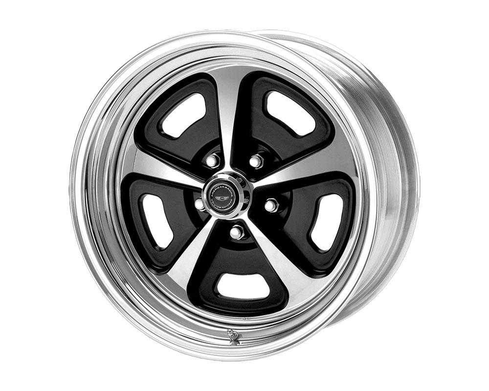 American Racing VN500 Wheel 15x10 Blank +0mm Two-Piece Gloss Black Polished Center & Barrel