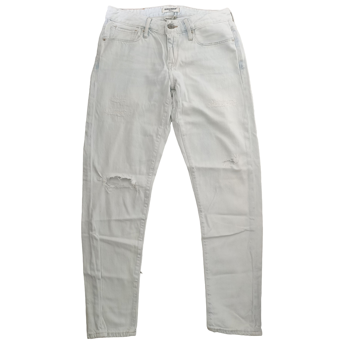Levi's Made & Crafted \N White Cotton Jeans for Women 25 US