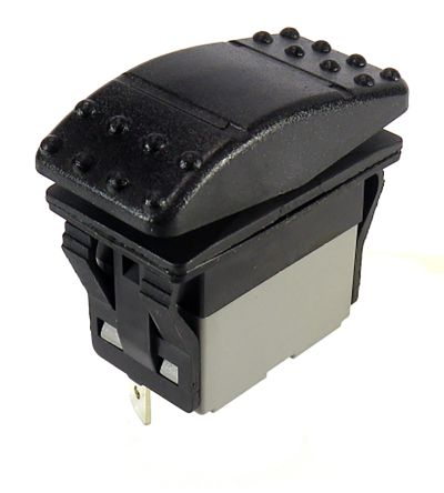 RS PRO Double Pole Double Throw (DPDT), On-On-On Rocker Switch Panel Mount
