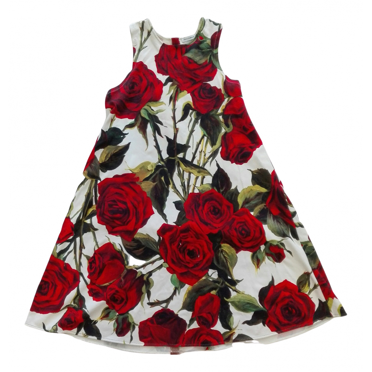 Dolce & Gabbana \N White Cotton dress for Kids 10 years - up to 142cm FR